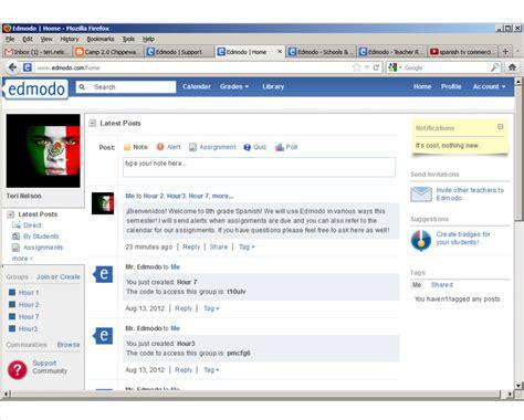edmodo not working c 2 0 chippewa blog free choice edmodo
