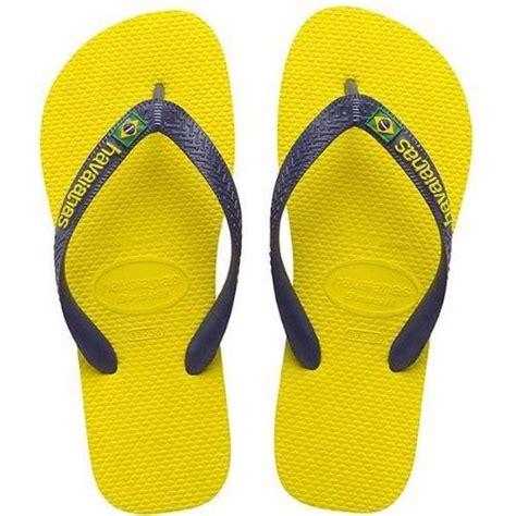 Tong Tong Mi 3 tongs homme havaianas brasil logo jaune jaune jaune achat vente tong cdiscount