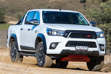 toyota now 2017 toyota hilux trd pack now on sale in australia