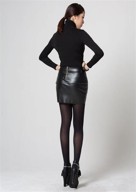 tight leather skirt and high heels images