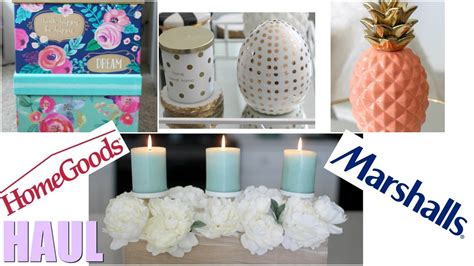 home decor haul homegoods marshalls march 2017