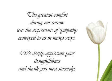 thank you for the comforting words 25 best ideas about funeral thank you notes on pinterest