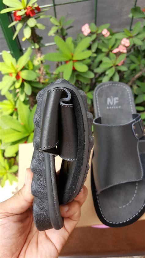 jual sandal sendal kulit pria cowo laki laki asli garut