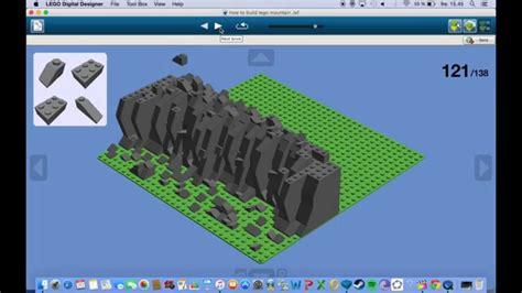 build a how to build a lego mountain