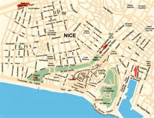 Map Of Nice France by Nice France Map Free Printable Maps