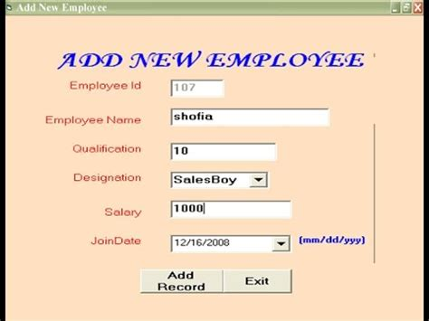 Mba Information System Management Project Topics by Accounting Management System Visual Basic 6 0 Project