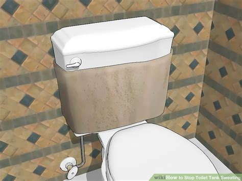 stop condensation in bathroom how to stop toilet tank sweating 5 steps with pictures