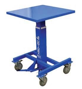 unidex lifter portable lift tables