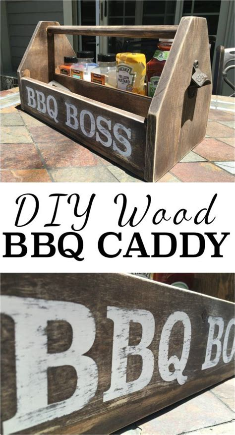 diy bbq caddy wood projects diy wood projects wood
