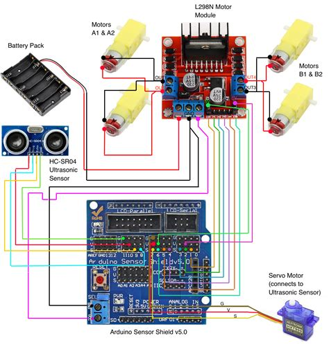 building  wd autonomous car  arduino codemahal
