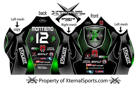 design jersey paintball exclusive 2012 san francisco explicit paintball jersey