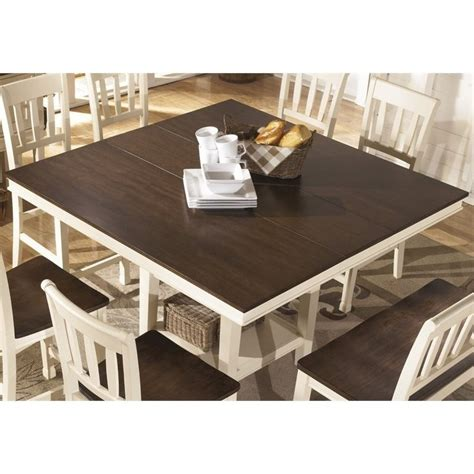 furniture whitesburg dining table whitesburg extendable counter height dining table