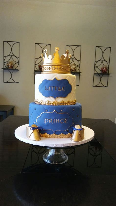 Royal baby shower cake Cakes Deserts Pinterest Royal baby   Creative Ideas