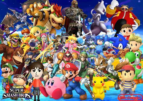 Smash Bros jeu votre perso de smash bros forum g 233 n 233 ration nintendo