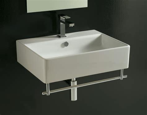 lavelli per bagno sospesi lavabo sospeso dome 60 cm