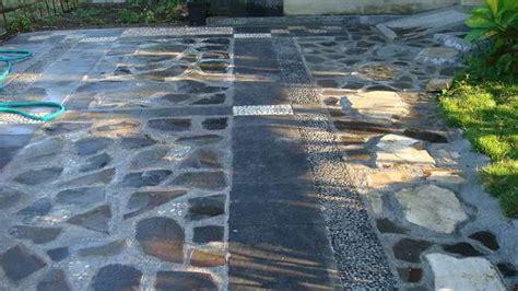 model lantai carport batu alam carport rumah