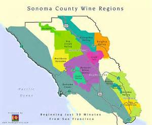 sonoma county ca wine appellation map flickr photo