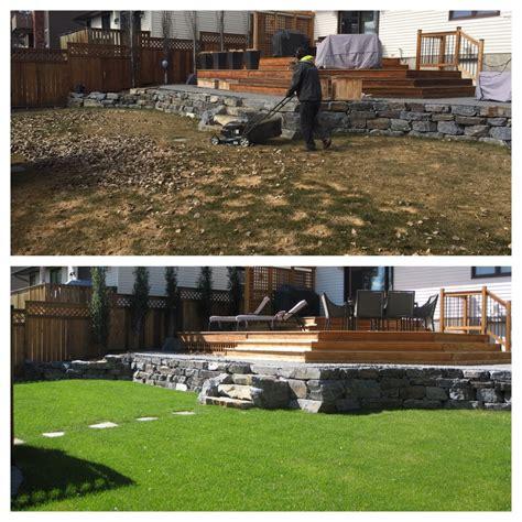 benefits of a yard clean up assiniboine lights