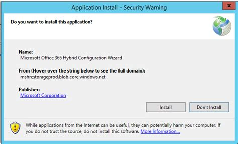 Office 365 Hybrid Configuration Wizard Creating A Hybrid Configuration With Exchange And Office 365