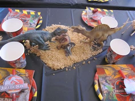 jurassic park themed birthday party dinosaurs jurassic park birthday party ideas photo 5