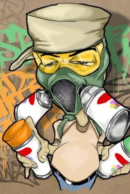 graffiti wall graffiti characters gangster