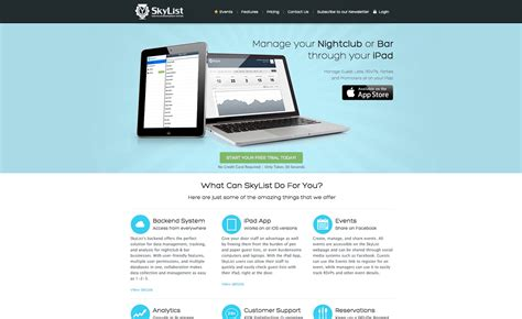 web app homepage design web application home page design homemade ftempo