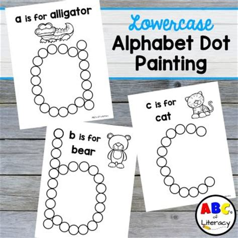 free abc painting printables archives abc s of literacy