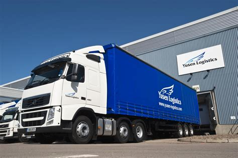 volvo tractor truck volvo trucks delivers 34 new tractors to yusen logistics