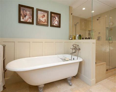 Clawfoot Tub Bathroom Design | bathroom design clawfoot tubs panelling and walk in