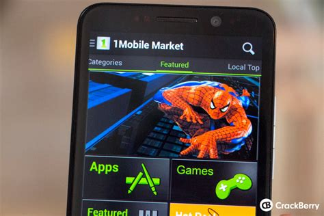 1mobile market android how to and install android apps using the 1mobile market on blackberry 10 crackberry