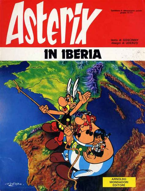 asterix spanish asterix la 843450815x mondadori editore asterix brossurati 14 asterix in iberia