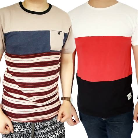 Kaos Baju Tshirt Oblong tshirt kaos baju oblong distro korea fashion model