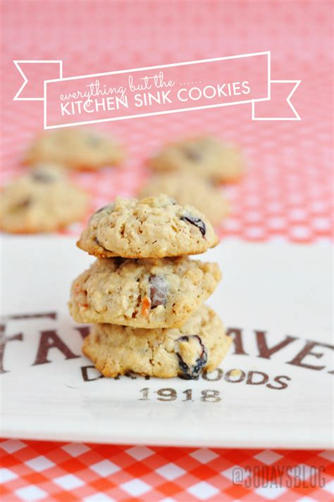 Kitchen Sink Cookie Recipe Everything But The Kitchen Sink Cookies