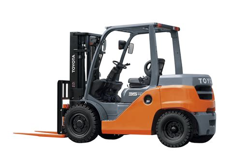 toyota 3 5 5 0 tonne 8 series 4 wheel forklift toyota