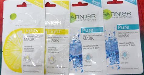 Pelembab Garnier Kuning sayasukamekap review my favorite mask garnier skin naturals