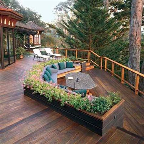 deck design ideas 32 wonderful deck designs to make your home extremely