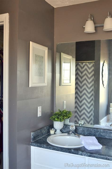 behr paint color park avenue master bathroom makeover