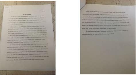 Hammurabis Code Was It Just Essay by Social Studies 6 My Portfolio On Manhattanacademy Of