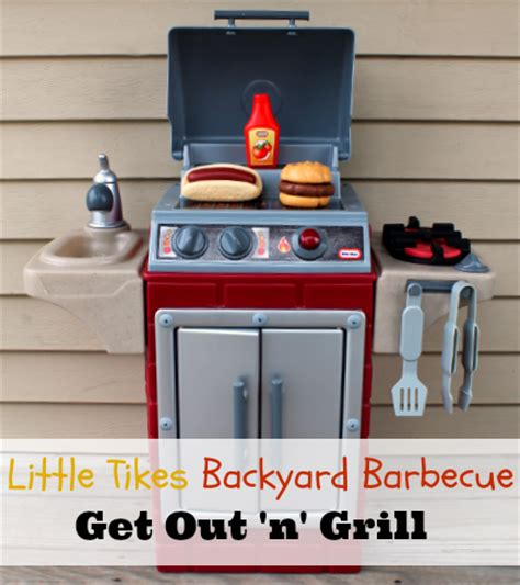 little tikes backyard barbecue little tikes backyard barbecue get out n grill toy for