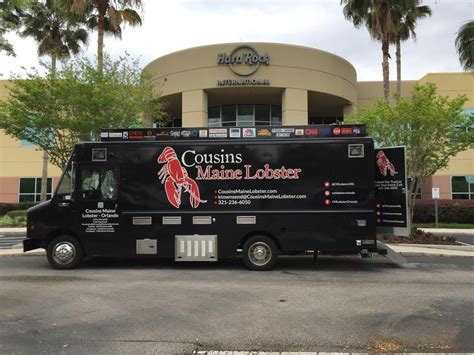 truck in orlando cousins maine lobster orlando orlando food trucks