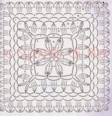 piastrelle crochet schemi lo spazio di lilla piastrelle crochet giganti per coperte