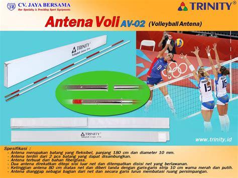 antena bola voli av  distributor olahraga