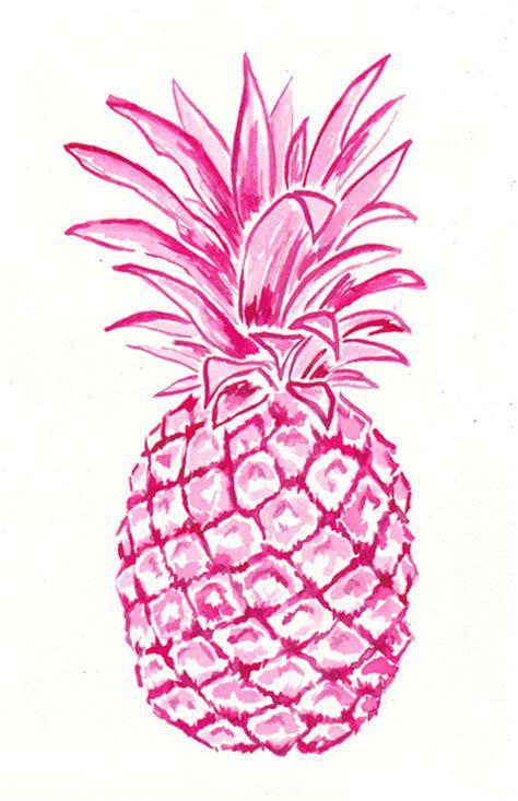 wallpaper pineapple pink pink pineapple art print artsy pinterest pineapple