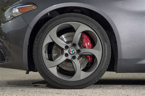 alfa romeo giulia rims 2017 alfa romeo giulia 2 0 test two outta three motor trend