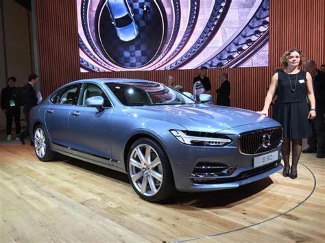 volvo new york auto show detroit auto show 2017 volvo s90 debut ny daily news
