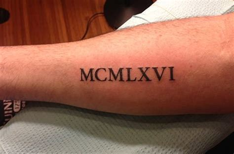 roman numeral tattoo bicep antique roman numeral clock with olivia charlie tattoo on