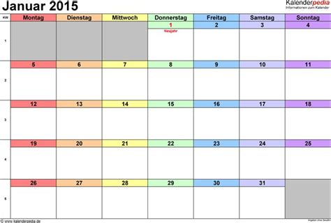 praktische vielseitige monatskalender als vorlagen im