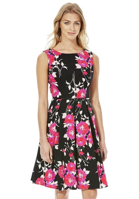 clothing at tesco f f floral print prom dress gt dresses