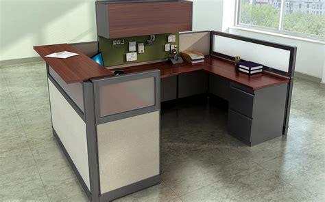 Cubical Desk by High End Receptionist Cubicle Desk Workstation