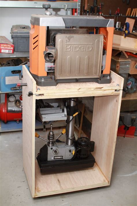 flip top tool stand page  woodworking talk